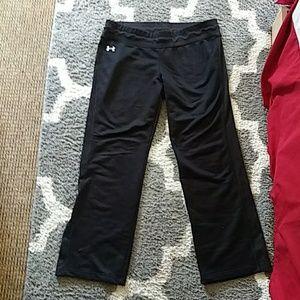Under armour black sweat pants